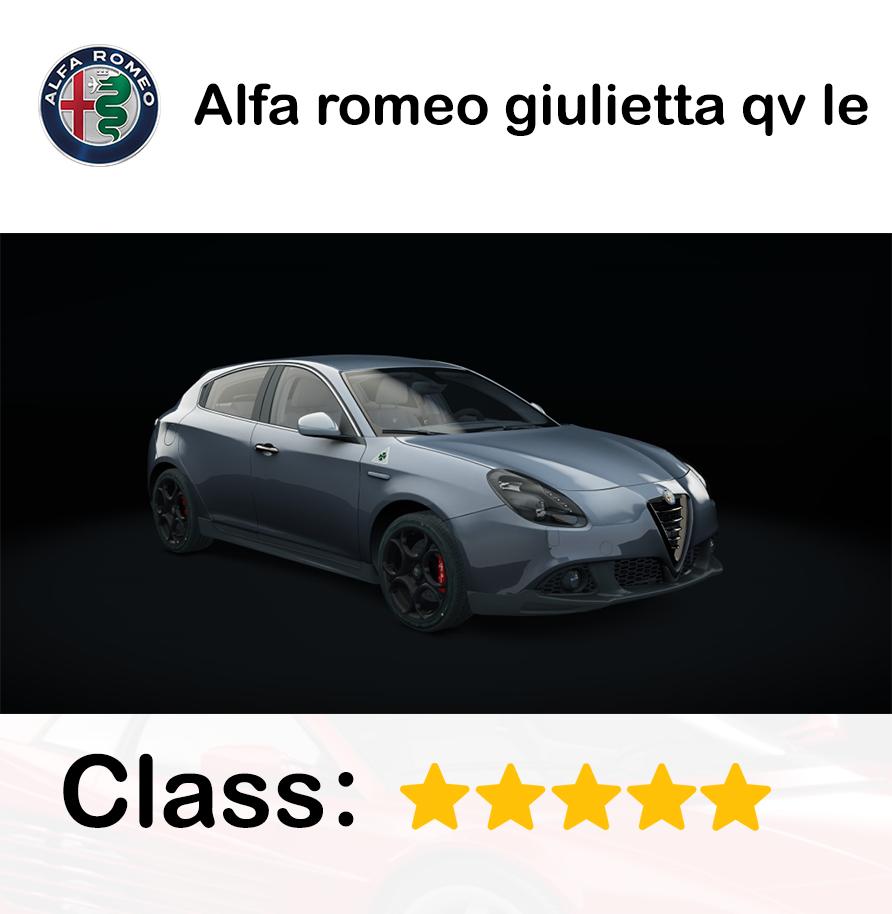 Alfa romeo giulietta qv le