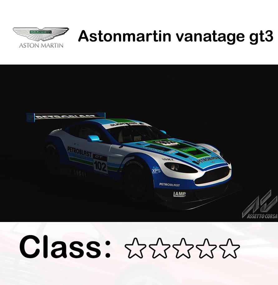 Astonmartin vanatage gt3