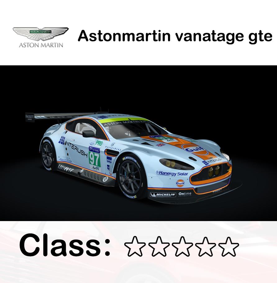 Astonmartin vanatage gte