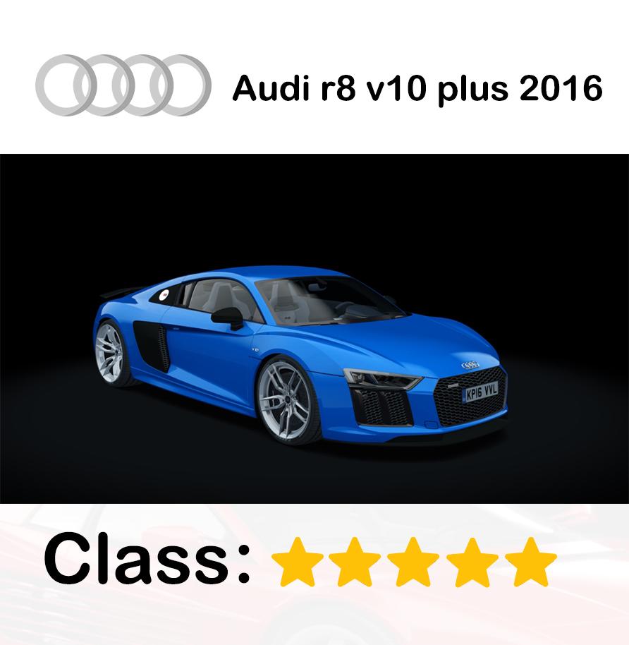 Audi r8 v10 plus_2016