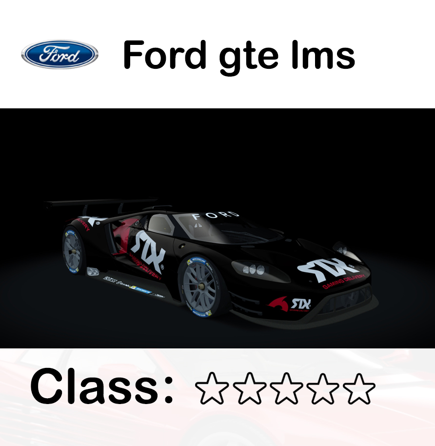 Ford gte lms