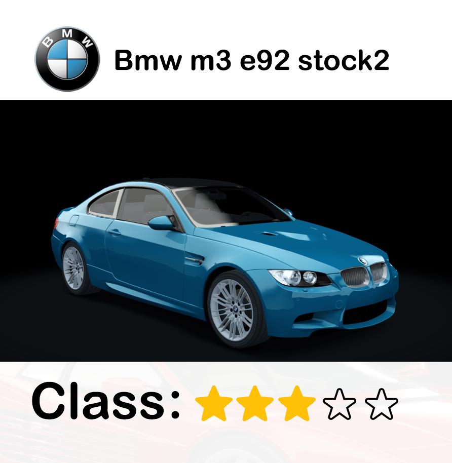 Bmw m3 e92 stock2