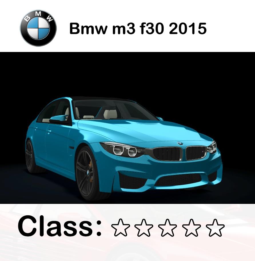 Bmw m3 f30 2015