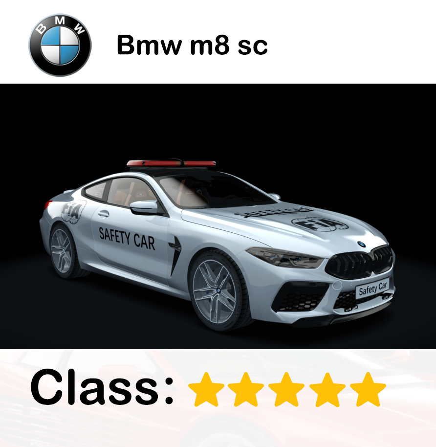 Bmw m8 sc