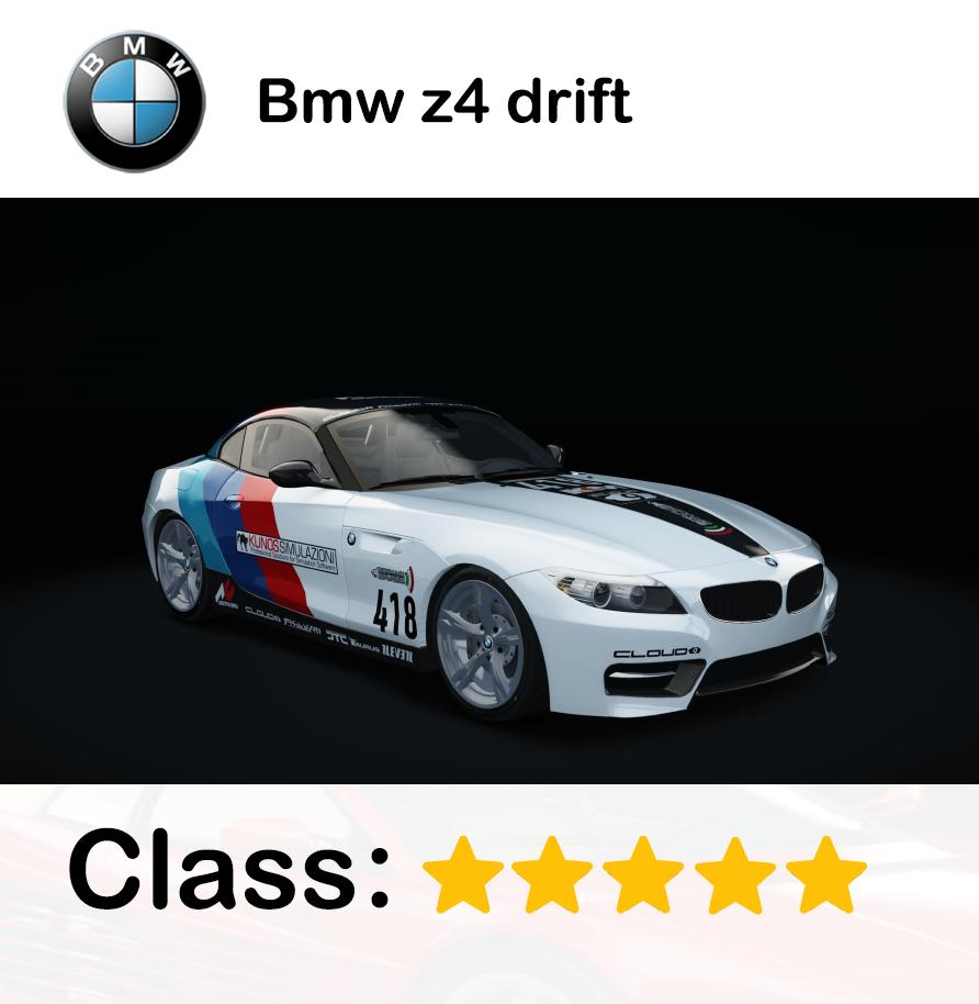 Bmw z4 drift