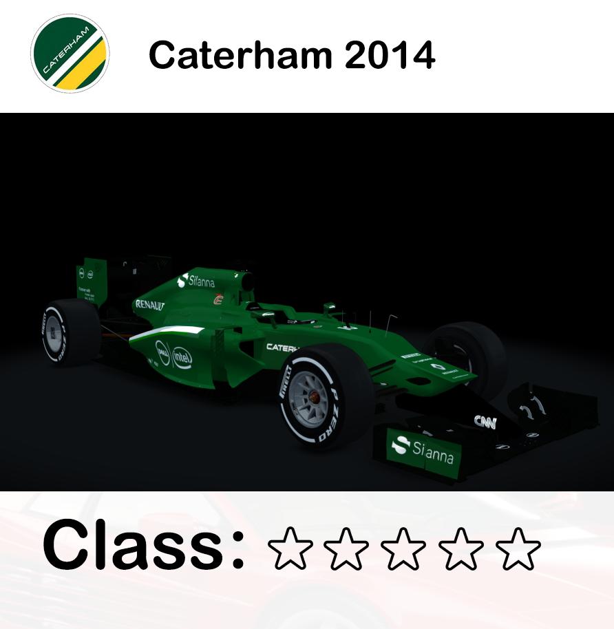 Caterham 2014