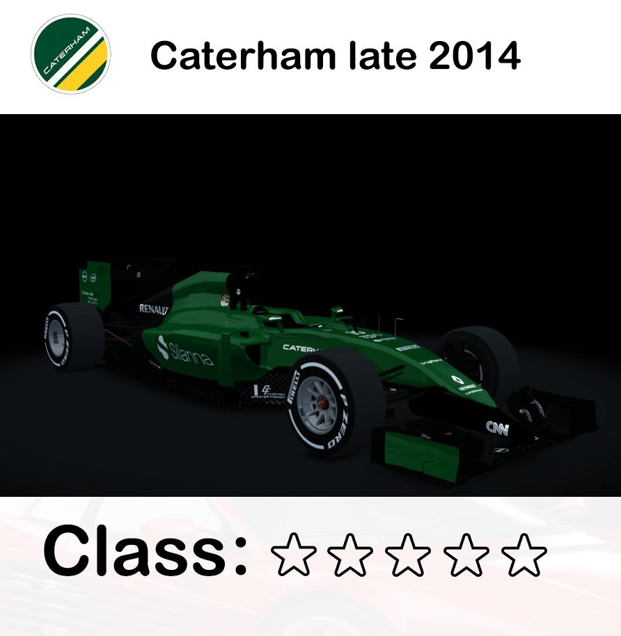 Caterham late 2014