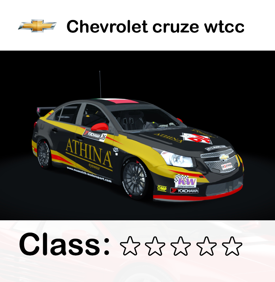 Chevrolet cruze wtcc