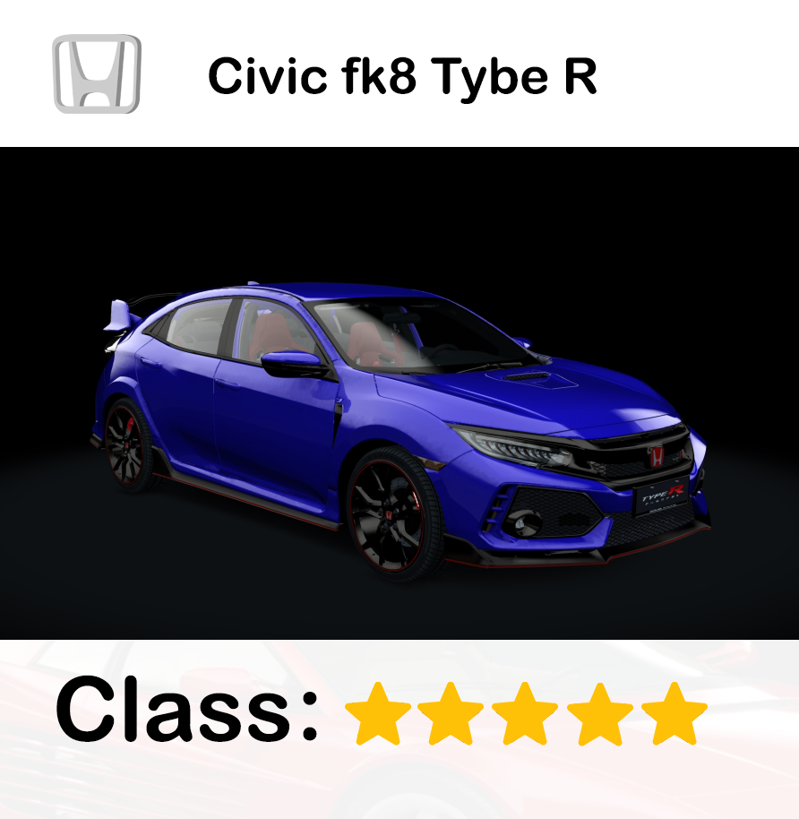 Civic fk8 Tybe R