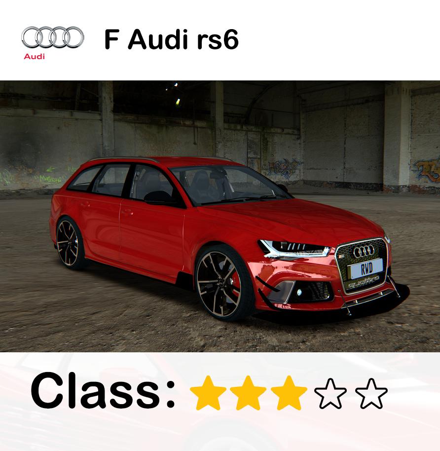 F Audi rs6