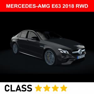 MERCEDES-AMG E63 2018 RWD