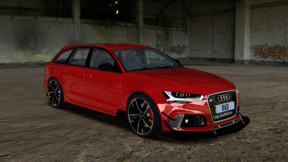 Audi RS6 Avant RWD D1